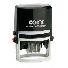 COLOP Printer Ovál 55 Dátum fekete