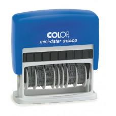 COLOP S 120/DD Mini Dupla Dátum kék