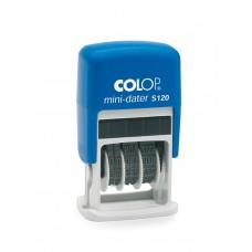 COLOP S 120 Mini Dátum kék