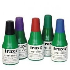 Traxx 7011 - 25 ml bélyegzőfesték fekete