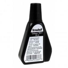 Trodat 7011 - 28 ml bélyegzőfesték fekete