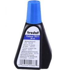 Trodat 7011 - 28 ml bélyegzőfesték kék